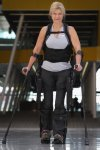 Bionic Exoskeleton Helps Wheelchair Users Stand and Walk